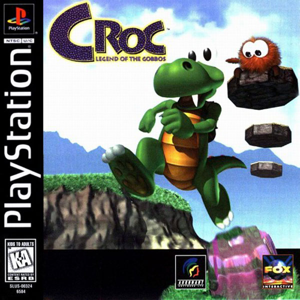 Croc - Legend of the Gobbos [U] Front Cover